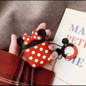 Minnie Mouse AirPods Silicone Case Cover